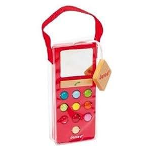Janod - J05342 - Téléphone Mobilo Sonore - Coloris aléatoire