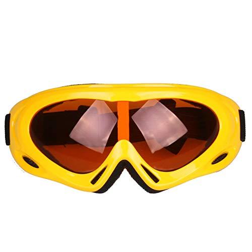 Coniea Ski Goggles Polarized TPU Sportbrille Herren Polarisiert Sport Sonnenbrillen Gelb