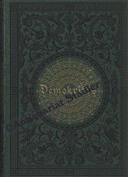 """Demokritos oder Hinterlassene Papiere eines lachenden Philosophen. Von dem Verfasser der """"Briefe eines in Deutschland reisenden Deutschen"""". 12 Bände in 4 Bänden."""