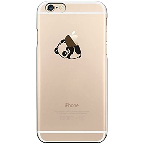 iPhone 6s plus Case, iPhone 6 plus Case, Ranrou case,Ranrou Soft TPU Silicone Clear Cases for iPhone 6 plus 6s plus -panda