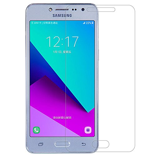 Kepuch Samsung Galaxy J2 Prime Protector de Pantalla - 2 Unidades Cristal Vidrio Templado 9H Dureza Screen Protector Film para Samsung Galaxy J2 Prime