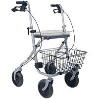 Drive Medical, Rad 190/50 Standard Rollator Migo, silber