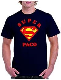 Camisetas divertidas Parent Super Paco - Para Hombre Camiseta
