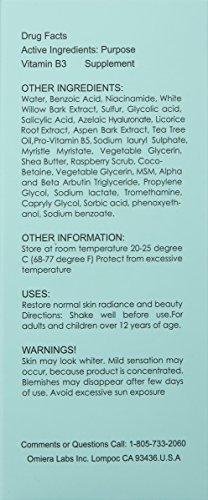Omiera Acdue Acne Tratamiento para cicatrices e quitar manchas de acne 120 ml