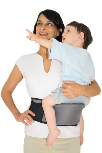 Pomfitis Carry G8766Baby Belly Waist Strapless Black Pomfitis LTD No more back pains from carrying your baby around! The Side Ride is a back supporting belt with an integrated child seat The Side Ride distributes your baby's weight evenly, reducing the strain on your spine, shoulder and arm 3