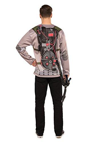 Imagen de rubie 's–disfraz de oficial cazafantasmas hombre camiseta con hinchable proton varita–2016diseño–hombres de tamaño estándar alternativa