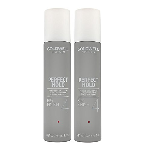 Goldwell Big Finish Volume Hairspray 9.2 Oz. Set of 2 by Goldwell - Goldwell Volume Big Finish