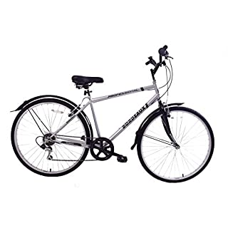 Professional Bordeaux 700c Wheel Mens Hybrid City Trekking Bike 22