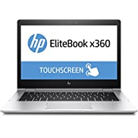 HP EliteBook x360 1030 G2 (13,3 Zoll FHD Touchdisplay) Convertible Laptop (Intel Core i7-7600U, 256 GB SSD, 8 GB RAM, Windows 10 Pro) silber