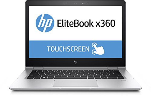 HP EliteBook x360 1030 G2 (13,3 Zoll FHD Touchdisplay) Convertible Laptop (Intel Core i7-7600U, 256 GB SSD, 8 GB RAM, Windows 10 Pro) silber (Hp 100-batterie Mini)
