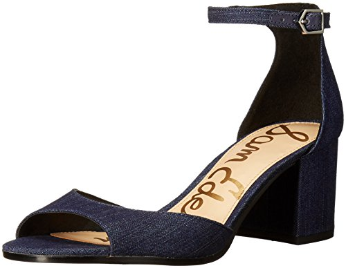 Sam Edelman Womens Susie Dress Sandal Bleu marine denim