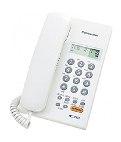 Panasonic KX-TSC62SXW Corded Telephone  available at amazon for Rs.1326