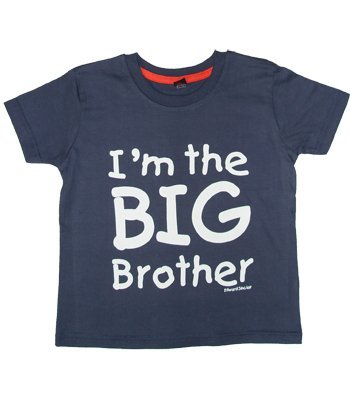 I'm the Big Brother' Navy t-shirt in 2-3 years ... -
