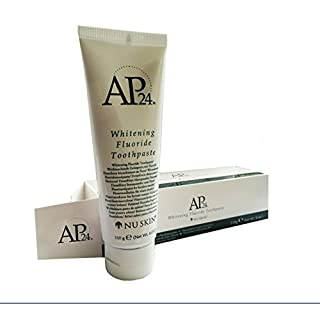 AP-24 Whitening Fluoride Toothpaste. Brightens and whitens teeth. This product really works!