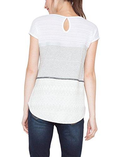 Desigual Damen T-Shirts TS_mire Beige (Crudo 1001)