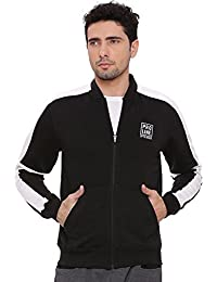 Proline Mens Black Sweat Shirt(PA13558ADBK)