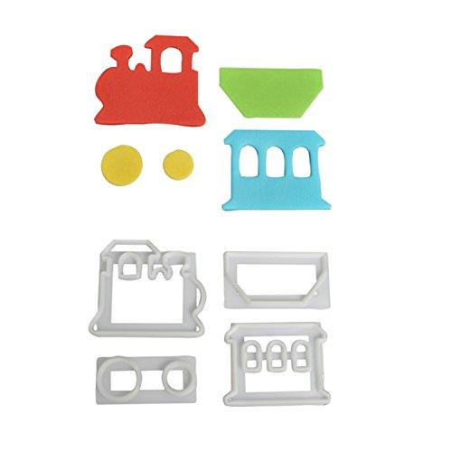 n Ausstecher-Set aus Kunststoff | Tortendeko | für Fondant und Blütenpaste ()
