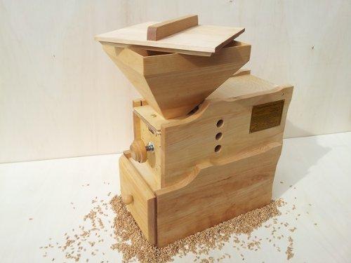 Getreidemühle WIDU Universalmühle Mod. III aus Holz - 7
