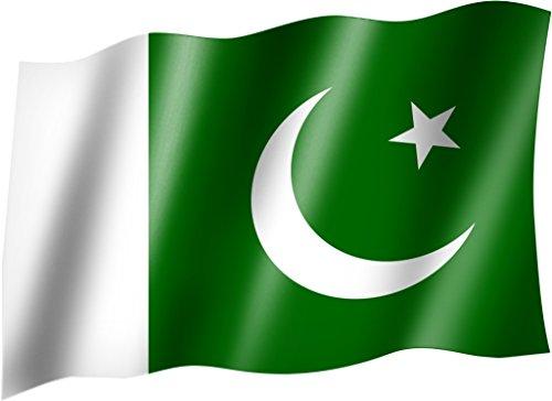 Flagge/Fahne PAKISTAN Staatsflagge/Landesflagge/Hissflagge mit Ösen 150x90 cm, sehr gute Qualität