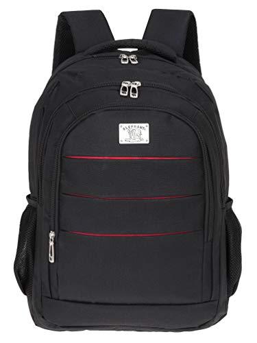 Rucksack Elephant Blackpack Freizeitrucksack Arbeitsrucksack 590 Schwarz + Flasche -