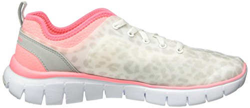 Skechers Damen Skech-Flex Power Player Sneakers Weiß (WPK)