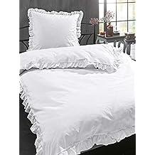 Suchergebnis Auf Amazonde Für Bettwäsche Weiß Rüschen