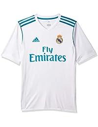 adidas H JSY Y Camiseta 1ª Equipación Real Madrid 2017-2018 b3844a4df5e28