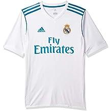 adidas H JSY Y Camiseta 1ª Equipación Real Madrid 2017-2018 f405d1f4e016f