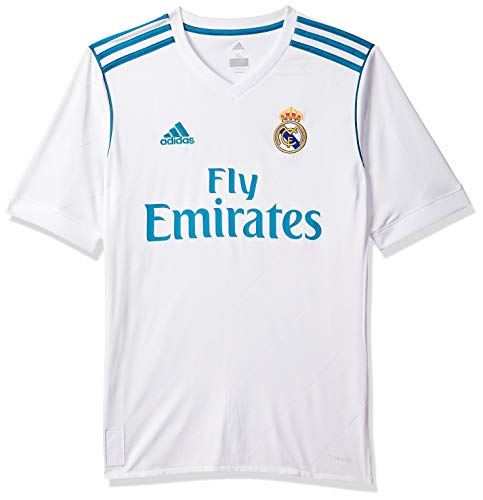 adidas Boy's Real Madrid Home Short Sleeve Jersey, boys, Real Madrid Domicile