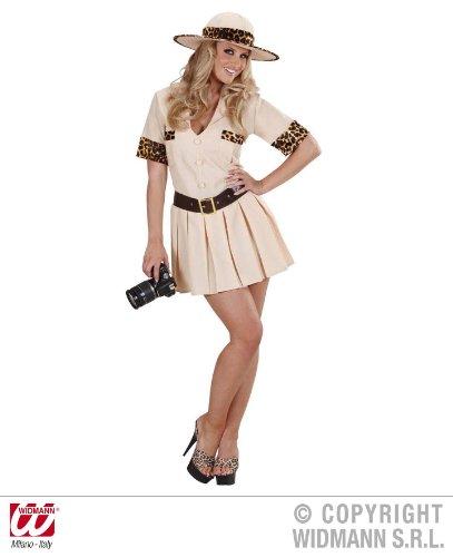 KOSTÜM - SAFARI GIRL - Größe 34/36 (S) (Safari Girl Kostüme)