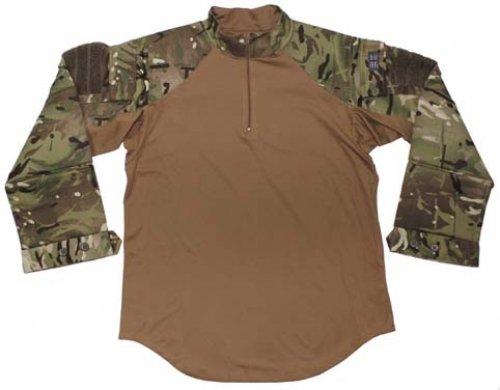 Brit. Combat Shirt, MTP tarn, Hot Weather, neuwertig Größe: S