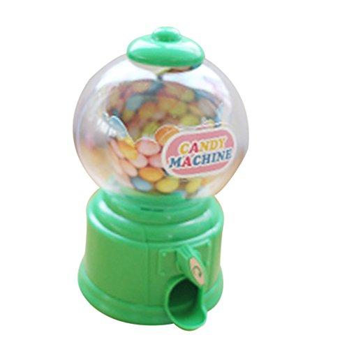 nspender Süßigkeitenautomat Mini Venind Machine Spielzeug Für Kinder - Grün ()