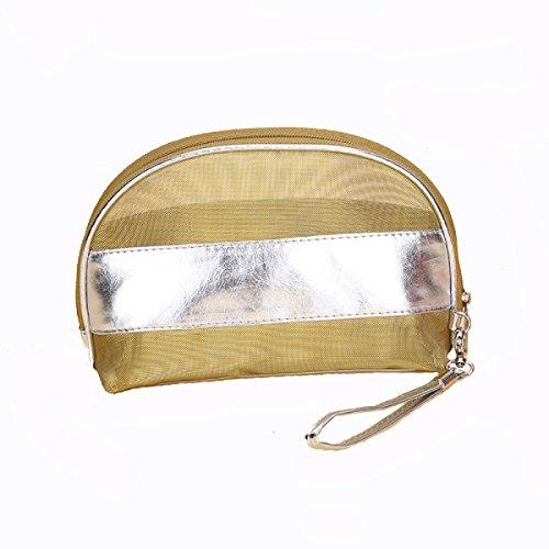 Ms. Trasparente Maglia Lavare Viaggi Sacchetto Di Immagazzinaggio Cartella Stoffa Borse Multicolore,A C