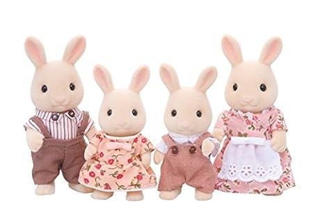 Epoch Sylvanian Families Sylvanian Family Doll set Milk Rabbit Family FS-09 (japan import)