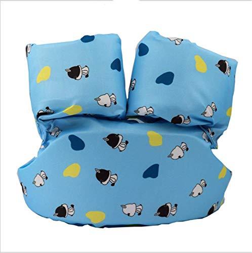 FDGT Blue Puppy Kinder Schwimmen Arm Circle Kleinkind-Baby-Schwimmanlage Schwimmen Kreis Blase Mu Sleeves Schwimmweste