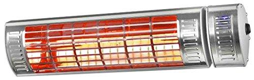 Euromac Golden 2000 Ultra RCD 2000 W Acier inoxydable infrarouge