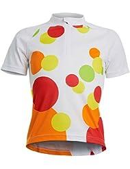 Polaris - Maillot cyclisme manches courtes pour filles
