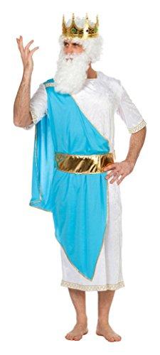 ,Karneval Klamotten' Kostüm Gott Zeus Karneval Toga Grieche Herrenkostüm (Zeus Gott Griechischer Kostüm)