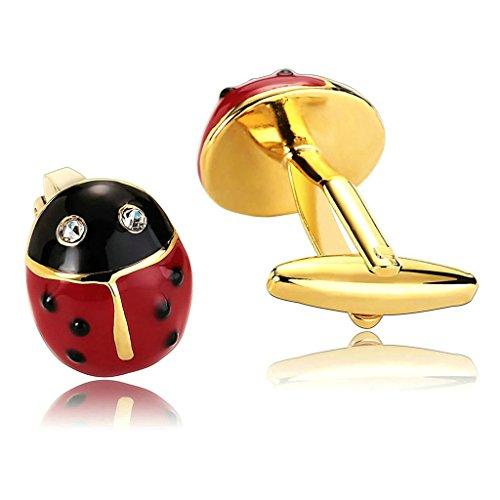 daesar-2-piezas-gemelos-hombre-rodio-plateado-rojo-negro-gota-de-aceite-escarabajo-mariquita-cubic-z