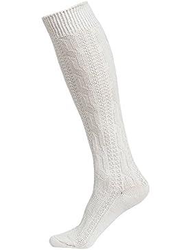 Trachtenstrümpfe Trachtensocken Kniebundstrümpfe Weiß Lang Gr. 41-47
