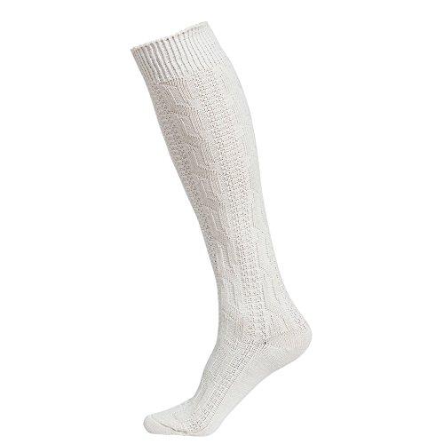 Herren 1 Paar HJ Halle Saltire Scottish Flag aus Wollmischung Kilt Socken