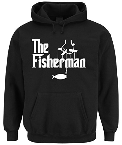 The Fisherman Hooded-Sweater Black Certified Freak-S (Sweatshirt Hooded Boot)