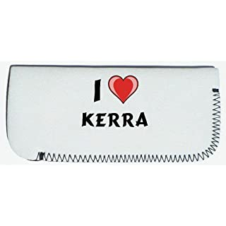 Shopzeus Glasses Case with I Love Kerra (first name/surname/nickname)