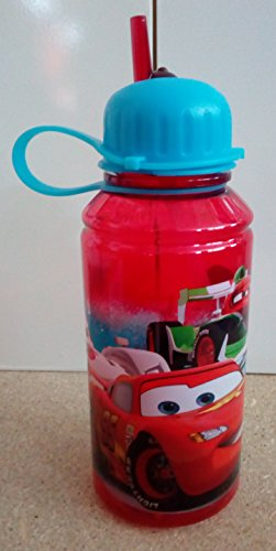 Image of Bottle of tritan small 450ml Cars Neon Racers Cup
