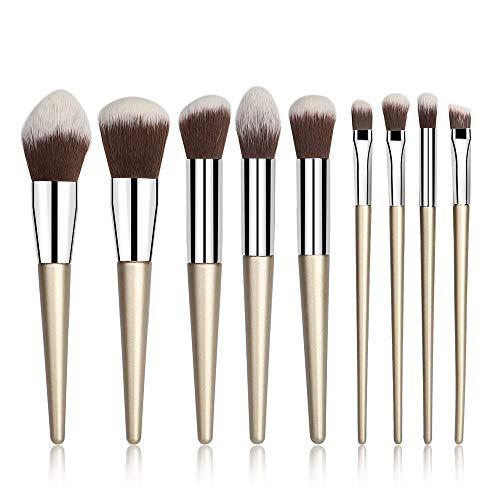 Zorara Make Up Pinsel Set, 9-tlgs Professionelles Schminkpinsel Kosmetikpinsel Sets Makeup Bürsten...