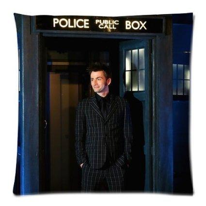 Hot Verkauf Doctor Who David Tennant Kissenbezug Reißverschluss Kissen Fall 45,7x 45,7cm (Zwei Seiten) (Kissenbezug Loki)