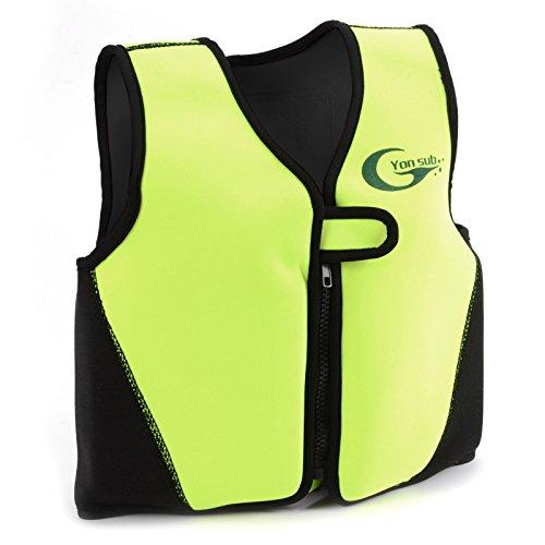 Swimwesten Kinder Schwimmweste Kinder Schwimmhilfe S gelb Floating Jacket