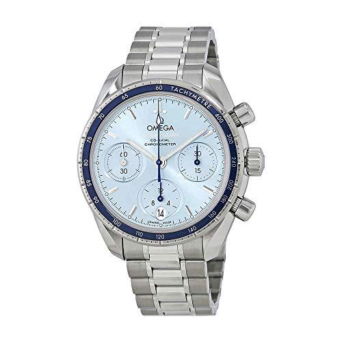 Omega Speedmaster Automatique Cadran Bleu Montre de chronographe pour Homme 324.30.38.50.03.001