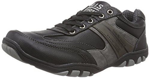 HIS His, Sneakers basses homme Noir - Noir