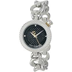 Just Cavalli Damen-Armbanduhr Analog Quarz Edelstahl R7253137625